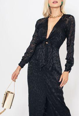 Vestido-Layde-longo-Amissima-preto