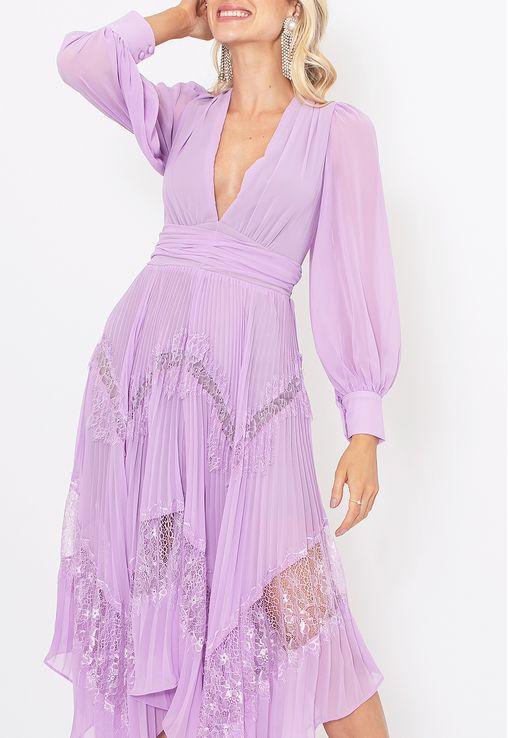 Vestido-Chantili-midi-Powerlook-lavanda