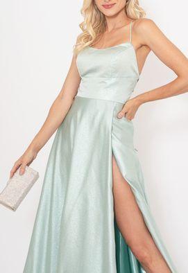 Vestido-Catarina-longo-PowerLook---verde-menta